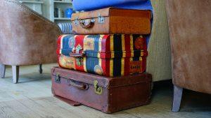 Koffer gestapelt