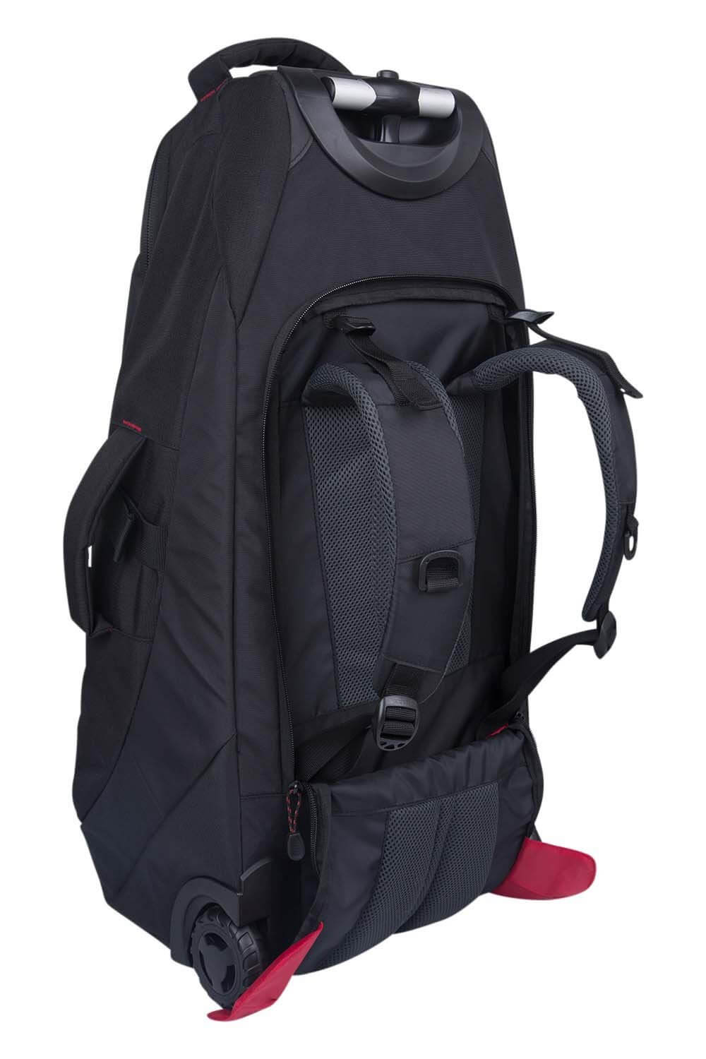 mountain warehouse voyager 50 liter rucksack mit rollen. Black Bedroom Furniture Sets. Home Design Ideas
