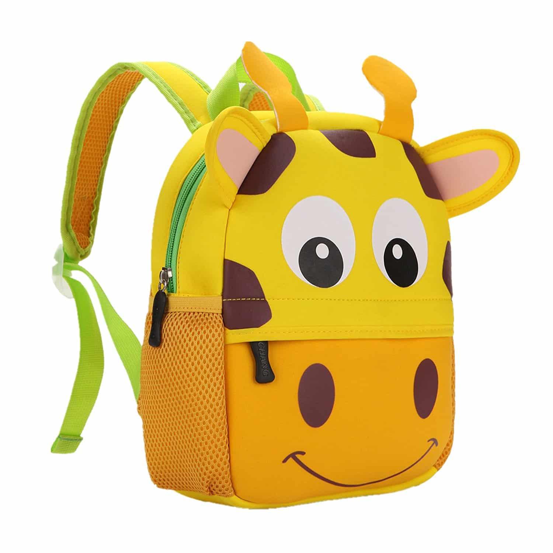 Rucksack als Giraffe