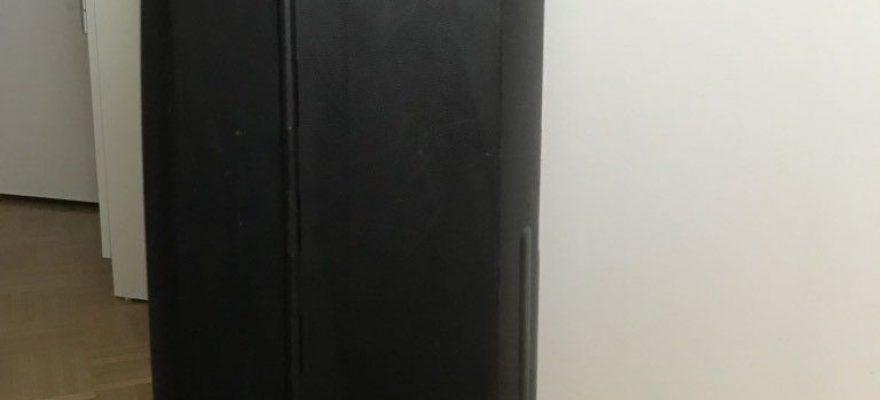 Samsonite Termo Young Upright schwarz Seitenprofil