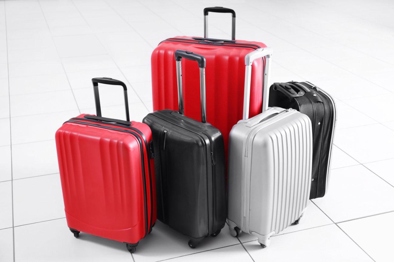 Unterschiedliche Koffer, die man als Koffer Set kaufen kann