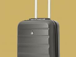 Der Aerolite Leichtgewicht ABS Handgepäck-Trolley im Test