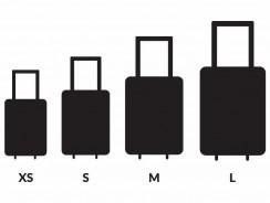 Koffergrößen: von XS bis XXXL